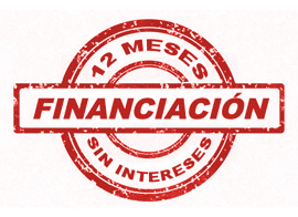 caldera financiacion 12 meses sin intereses