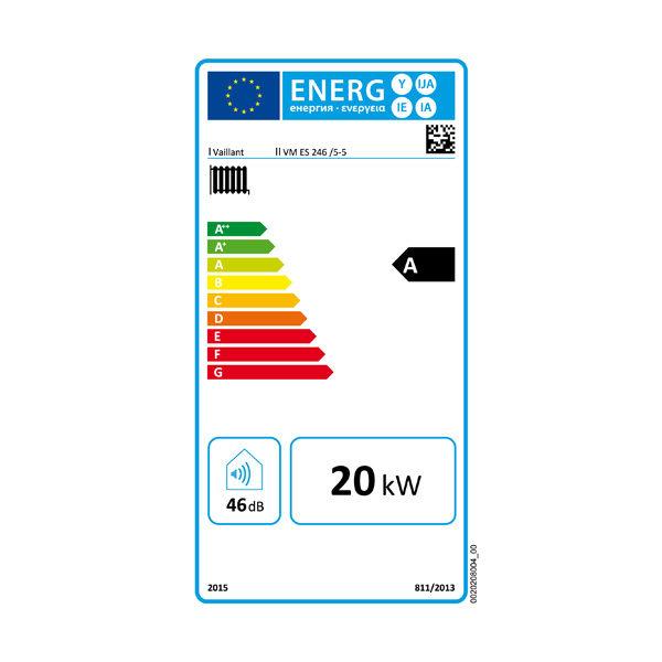 ETIQUETA ENERGETICA ECOTEC PLUS VMW 246 5-5