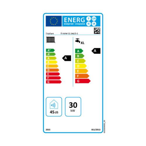 ETIQUETA ENERGETICA ECOTEC PLUS VMW 346 5-5
