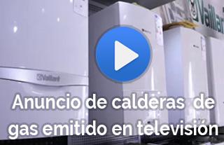 Anuncio de calderas de gas