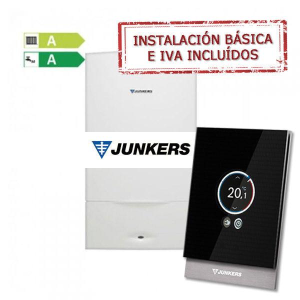 Calderas Junkers - Cambiatucaldera
