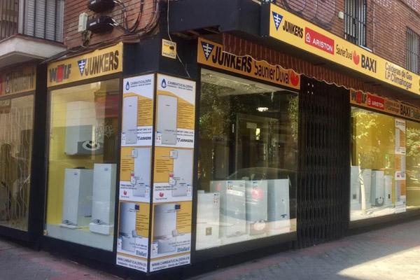 Tiendas de calderas de gas en Madrid