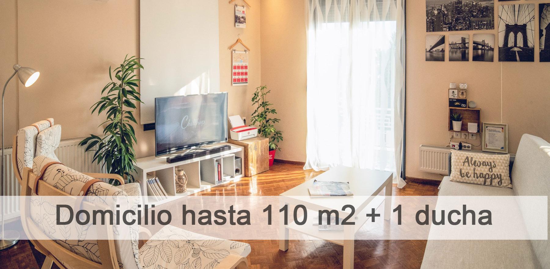 domicilio hasta 110 m2 + 1 baño - cambiatucaldera